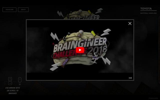 Screenshot of Braingineerchallenge