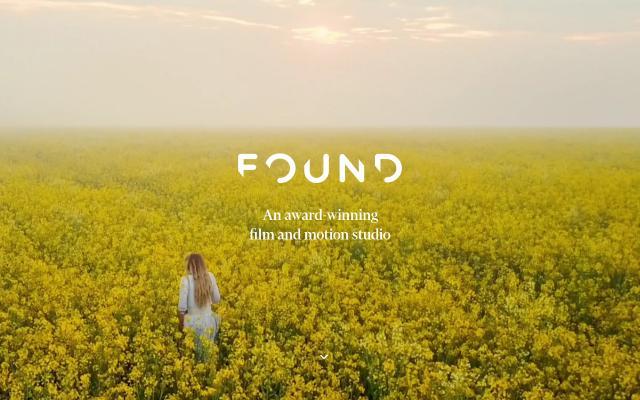 Screenshot of Found-studio