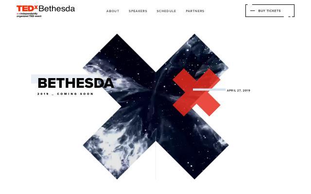 Screenshot of Tedxbethesda