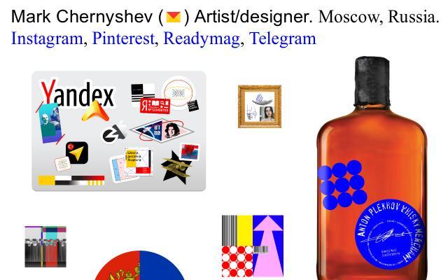 Screenshot of Markchernyshev