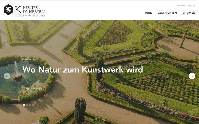 Screenshot of Kultur-in-hessen