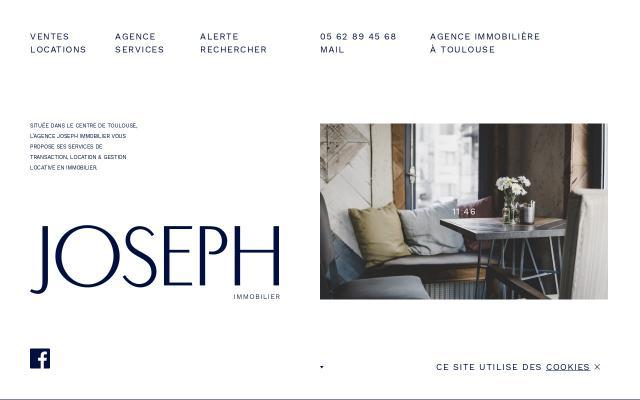 Screenshot of Joseph-immobilier