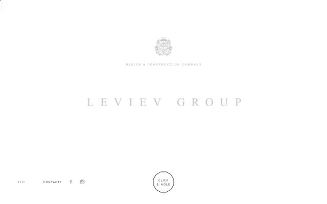 Screenshot of Leviev-group