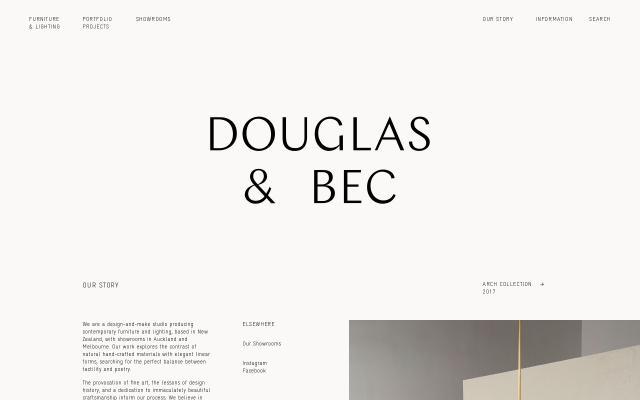 Screenshot of Douglasandbec