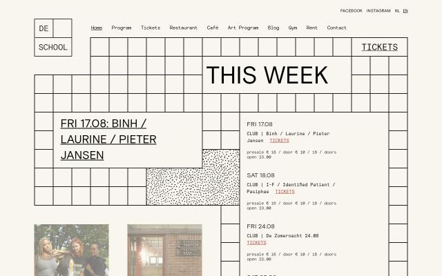 Screenshot of Deschoolamsterdam