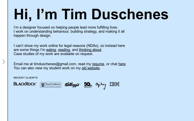 Screenshot of Timduschenes