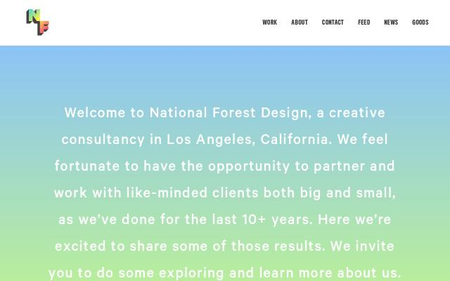 Screenshot of Nationalforest