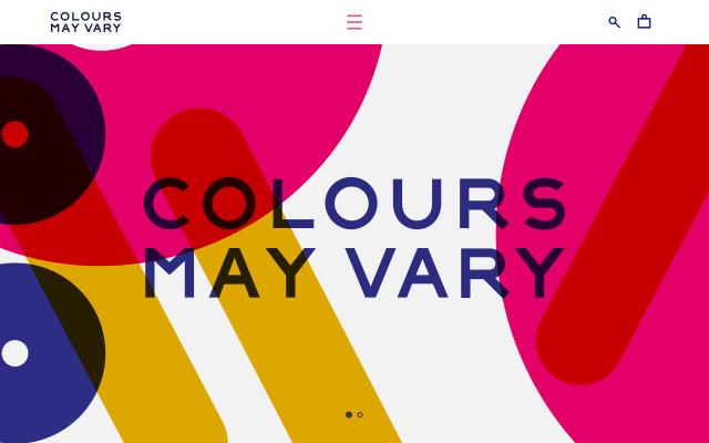 Screenshot of Coloursmayvary