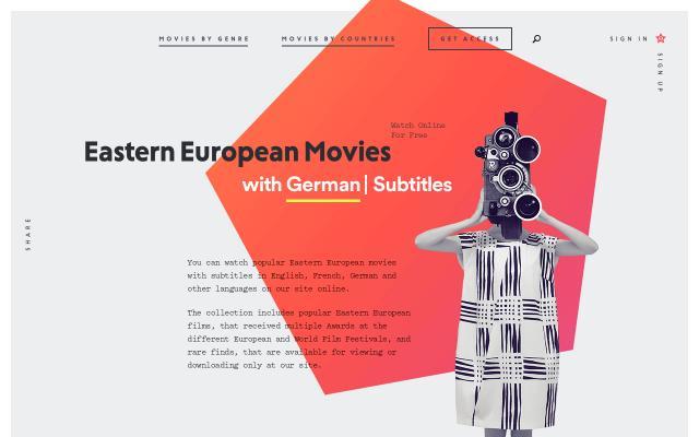 Screenshot of Easterneuropeanmovies