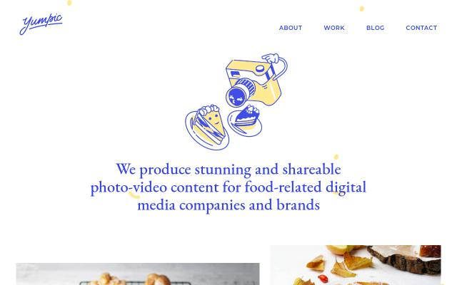 Screenshot of Yumpic