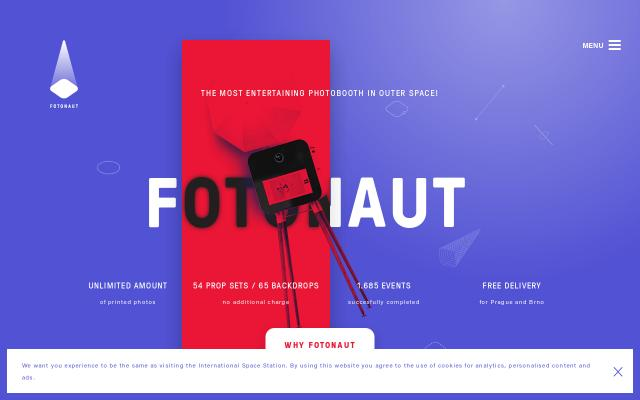 Screenshot of Fotonaut