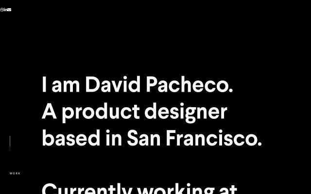 Screenshot of Davidpacheco