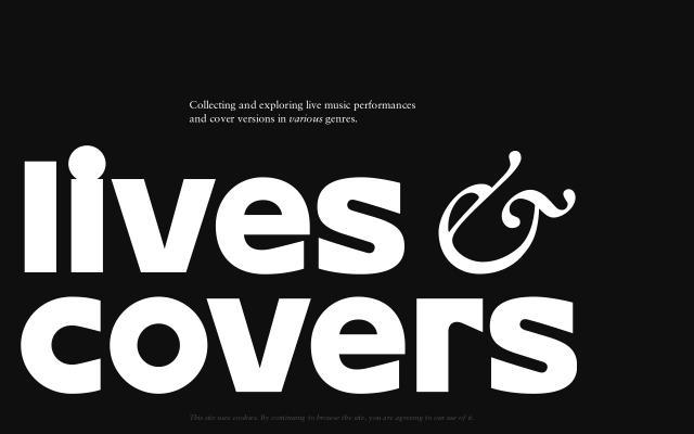 Screenshot of Covers