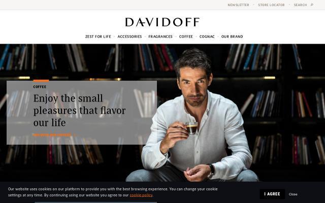 Screenshot of Zinodavidoff