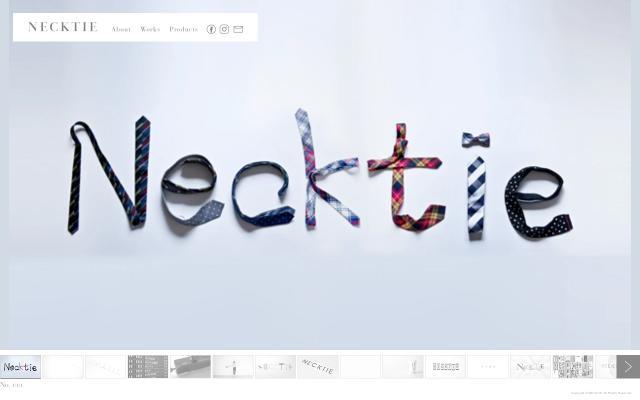 Screenshot of Necktie
