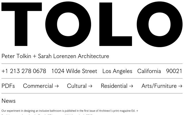 Screenshot of Toloarchitecture