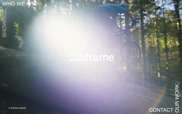 Screenshot of Subframe
