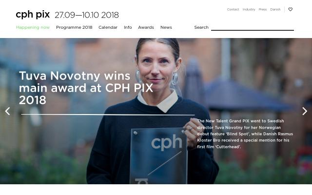 Screenshot of Cphpix
