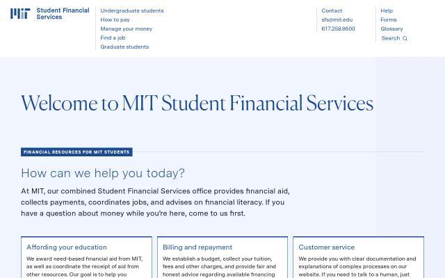 Screenshot of Mit
