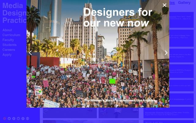 Screenshot of Mediadesignpractices