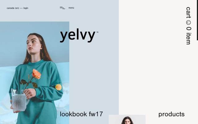Screenshot of Yelvy
