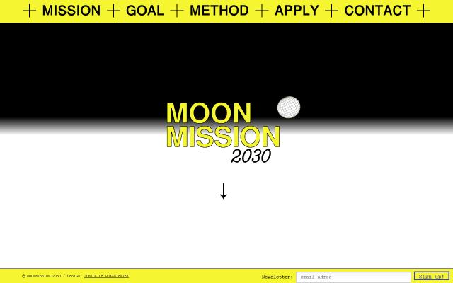 Screenshot of Moonmission2030