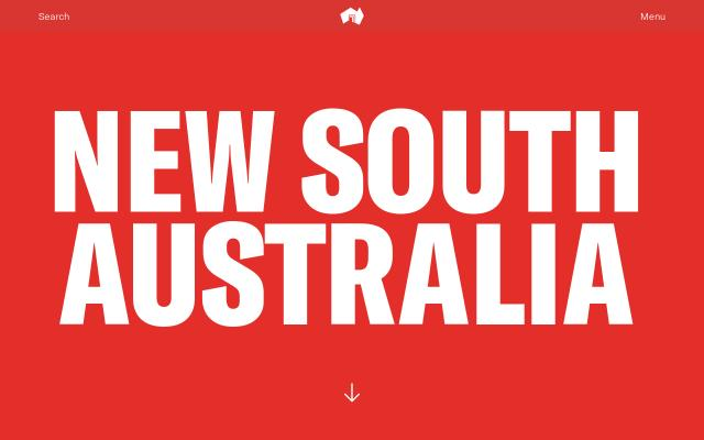 Screenshot of Newsouthaustralia