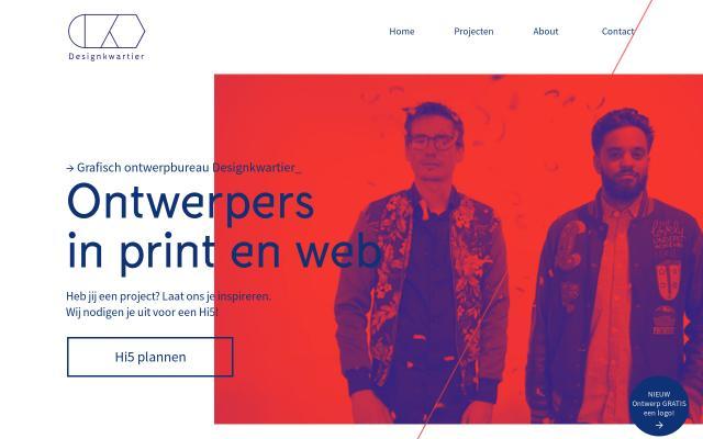 Screenshot of Designkwartier