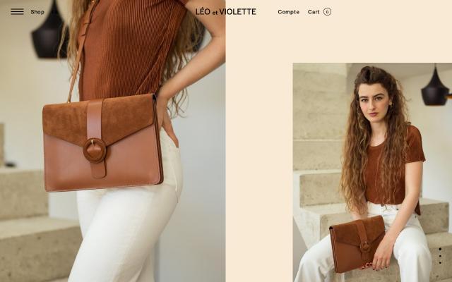 Screenshot of Leoetviolette