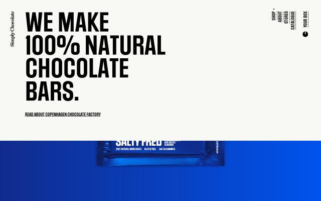 Screenshot of Simplychocolate