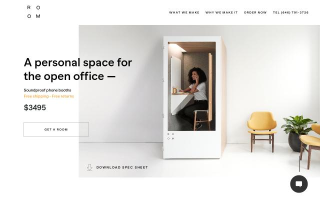 Screenshot of Getroom