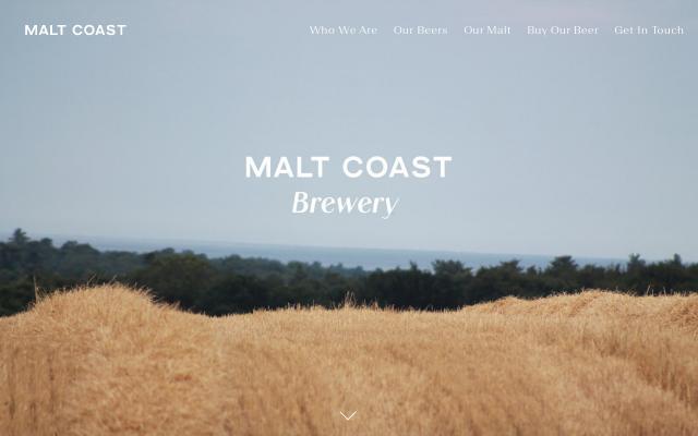 Screenshot of Maltcoast