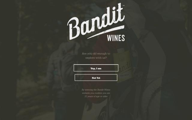 Screenshot of Banditwines