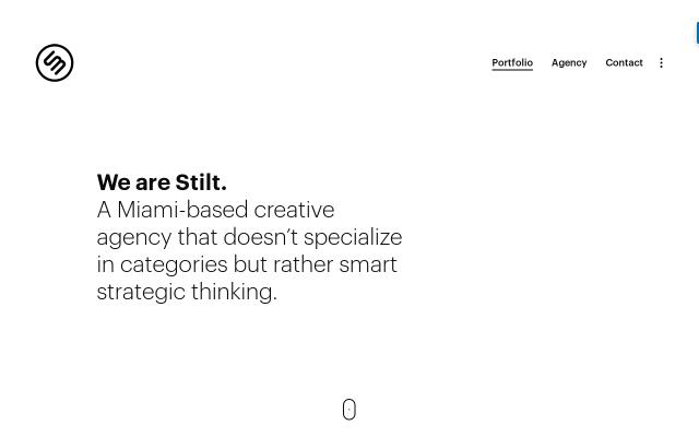 Screenshot of Stiltmedia