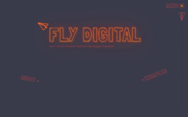 Screenshot of Flydigital