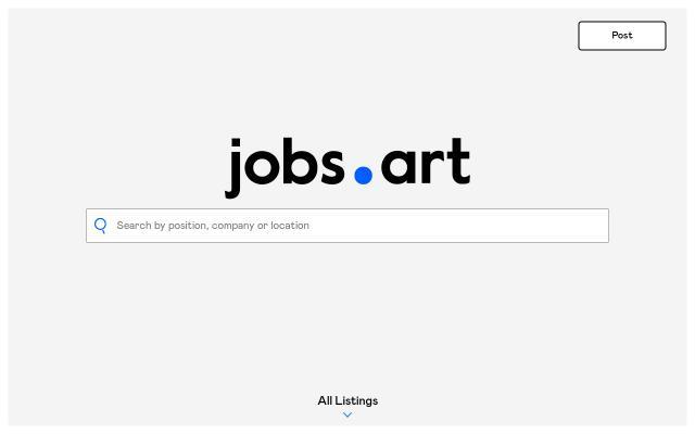 Screenshot of Jobs