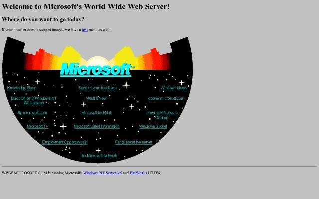 Screenshot of Microsoft