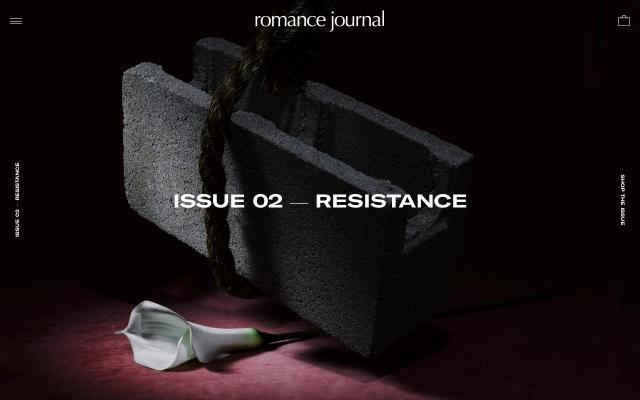 Screenshot of Romance-journal