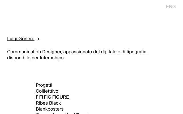 Screenshot of Luigigorlero