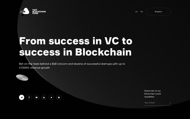 Screenshot of Tmtblockchainfund