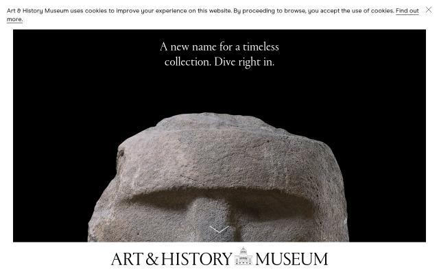 Screenshot of Artandhistory