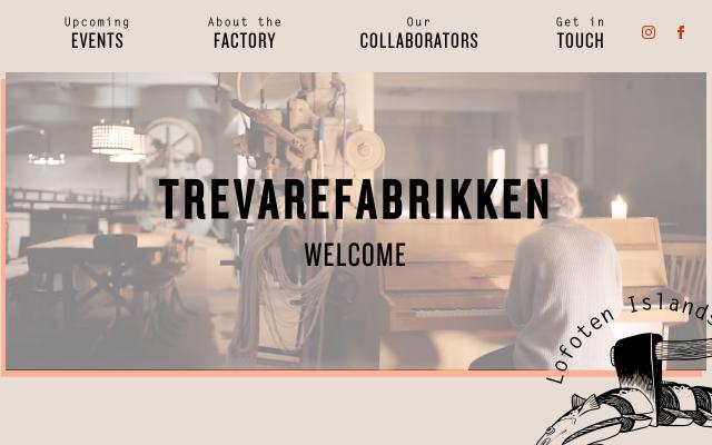 Screenshot of Trevarefabrikken