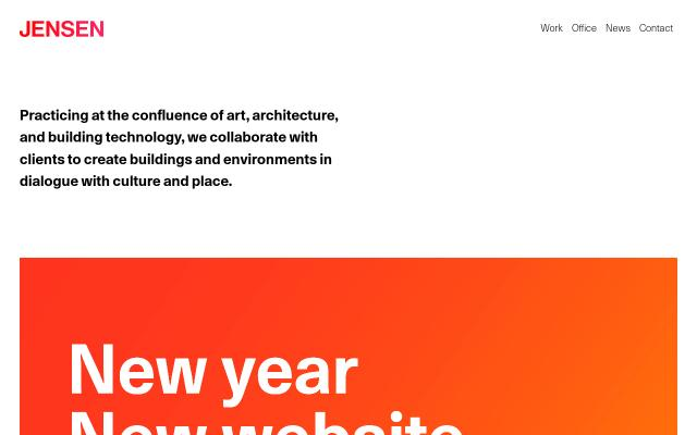 Screenshot of Jensen-architects