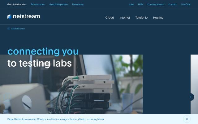 Screenshot of Netstream
