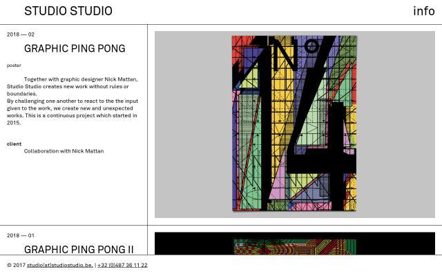 Screenshot of Studiostudio