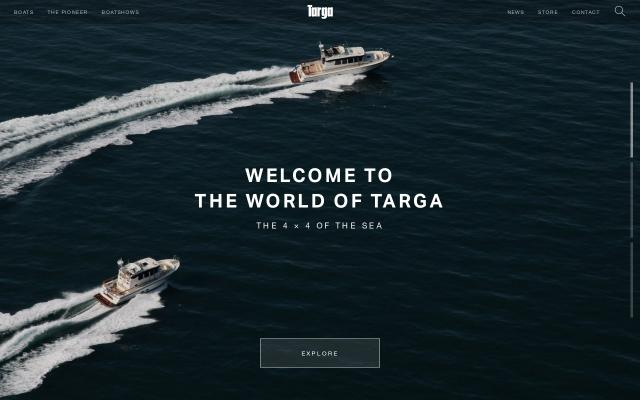 Screenshot of Targa