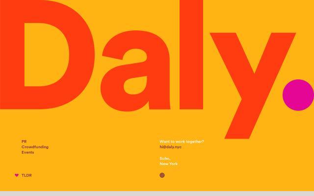 Screenshot of Daly