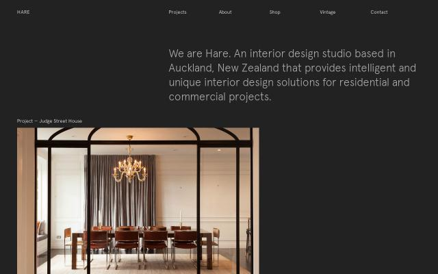 Screenshot of Wearehare