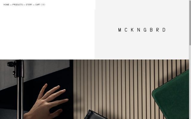 Screenshot of Bymckngbrd