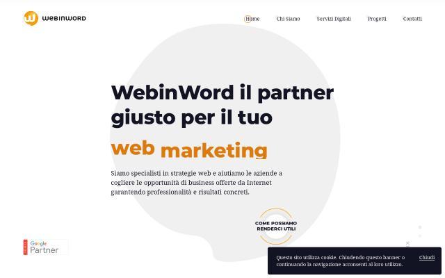 Screenshot of Webinword